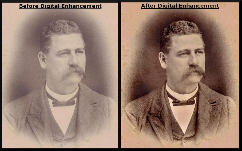 Before/After Photo Restoration